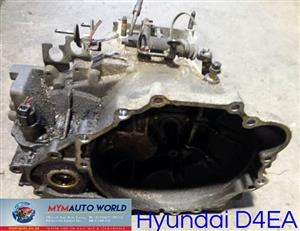 Imported used HYUNDAI D4EA MANUAL gearboxes. Complete second hand used engine