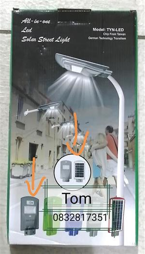 Solar Street light. 20w Very bright. With bracket/No pole.
