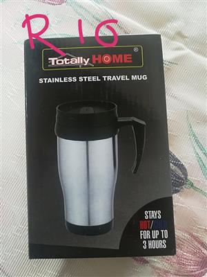 Stainless steel travel mug for sale