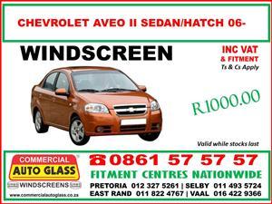 Chevrolet Spark - Utility - Aveo - Captiva - Cruze S.A.B.S Windscreens