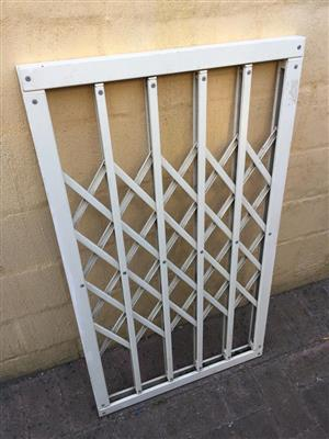 Various Trellidor Security fixed burglar bar panel - see prices below