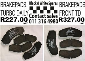 BRAKE PADS TURBO DAILY / FRONT TD