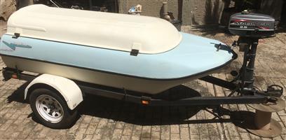 Longliner Combination Trailer - Boat