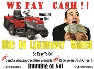 Ride on Lawnmowers