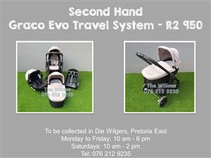 Second Hand Graco Evo Travel System