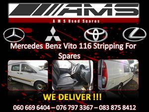 MERCEDES BENZ VITO 116 STRIPPING FOR SPARES