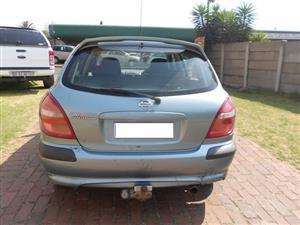 2001 Nissan Almera 1.8 Elegance