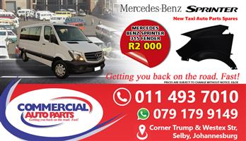 Front Fenders For Mercedes Benz Sprinter 315 For Sale.