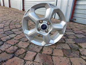 Ford Fiesta alloy mag