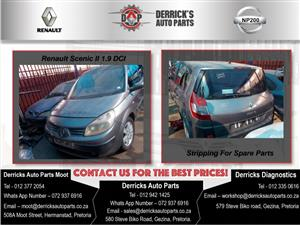 Renault Scenic 2 Stripping For Used Spares