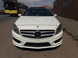 2014 Mercedes Benz A-Class hatch AMG A35 4MATIC