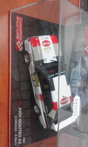 Audi quattro a2 racing car