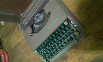 Vintage type writter