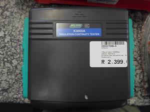 Major Tech K3005A Insulation Continuity Tester