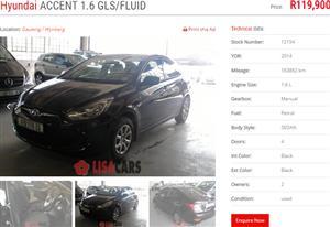 2014 Hyundai Accent 1.6 GLS
