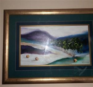 Ann Boonzaaier painting