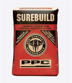 PPC SureBuild Cement 50KG