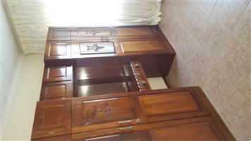 Trucraft Imbuia Wardrobe for sale