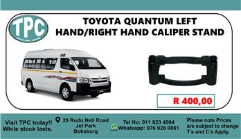 Toyota Quantum Left Hand/Right Hand Caliper Stand  - For Sale at TPC