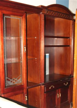 Rosewood 3 piece wall unit S031200A #Rosettenvillepawnshop