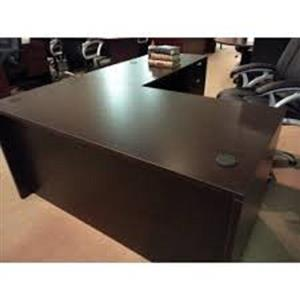 Large L shape office desk