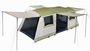 EARLY EASTER SPECIALS-LTD STOCK- The Oztrail Bungalow 9 Dome Tent