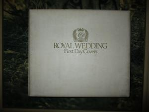make an offer . Princess Diana and Prince Charles First Day Cover Wedding Album 103 FDC's