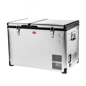 Stainless Steel Dual Fridge/Freezer Double Door BD/C-60D
