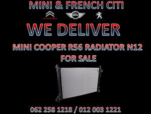 MINI COOPER R56 RADIATOR N12 FOR SALE AT MINI & FRENCH CITI