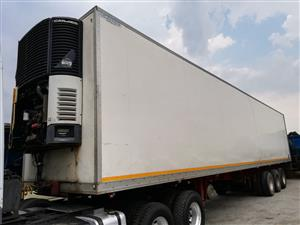 ● Save And Invest In This Tri-Axle Fridge Truck ●