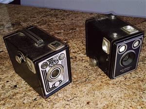 2×Vintage cameras