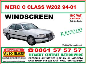 Windscreens S.A.B.S Approved - Toyota-Nissan-Ford-Mercedes Benz-Mazda