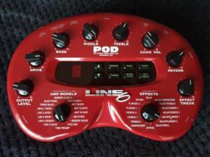 Line 6 POD 2 Guitar Multi-Effects Unit