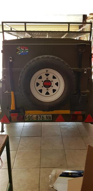Newly done off road camping trailer - R 20000!!!