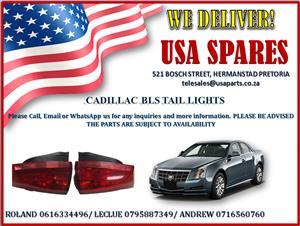 CADILLAC BLS TAIL LIGHTS