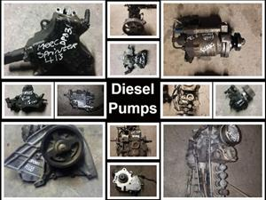 Diesel pumps for sale for most vehicle makes and models.