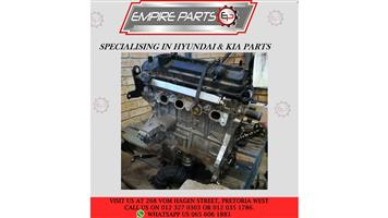 *COMPLETE ENGINE* - HY003 HYUNDAI i10 GRAND 2015 G4LA