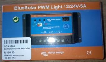 Bluesolar PWM Light 12/24v-5A solar panel controller