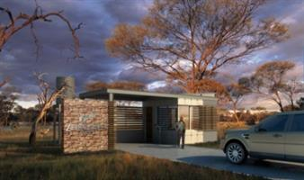 This 4.2ha property is part of a small game farm just east of Pretoria. A river and dam add to your