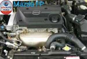Imported used MAZDA 626/CAPELLA 1.8L, FP  engine Complete
