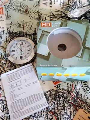 DVR Clock Survaillance Camera