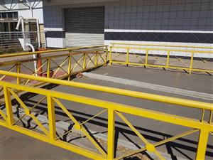 STEEL BALUSTRADE FOR SALE 20M LONG
