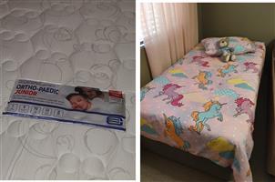 Ortho-pedic Junior Bed & base Set