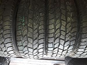 USED and new tires