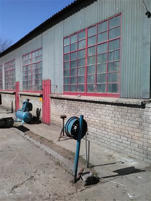 200m2 factory to let in Alberton North