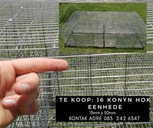 Rabbit breeding cages