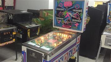OXO Pinball Machine by Williams, a 4 player pinball machine
