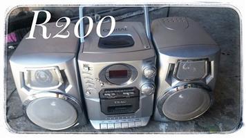 Dstv decoder Portable radio & CD player