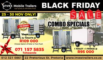 Mobile Freezer/Coolers for SALE! Black Friday special!