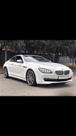 2011 BMW 6 Series coupe 650i COUPE (F13)